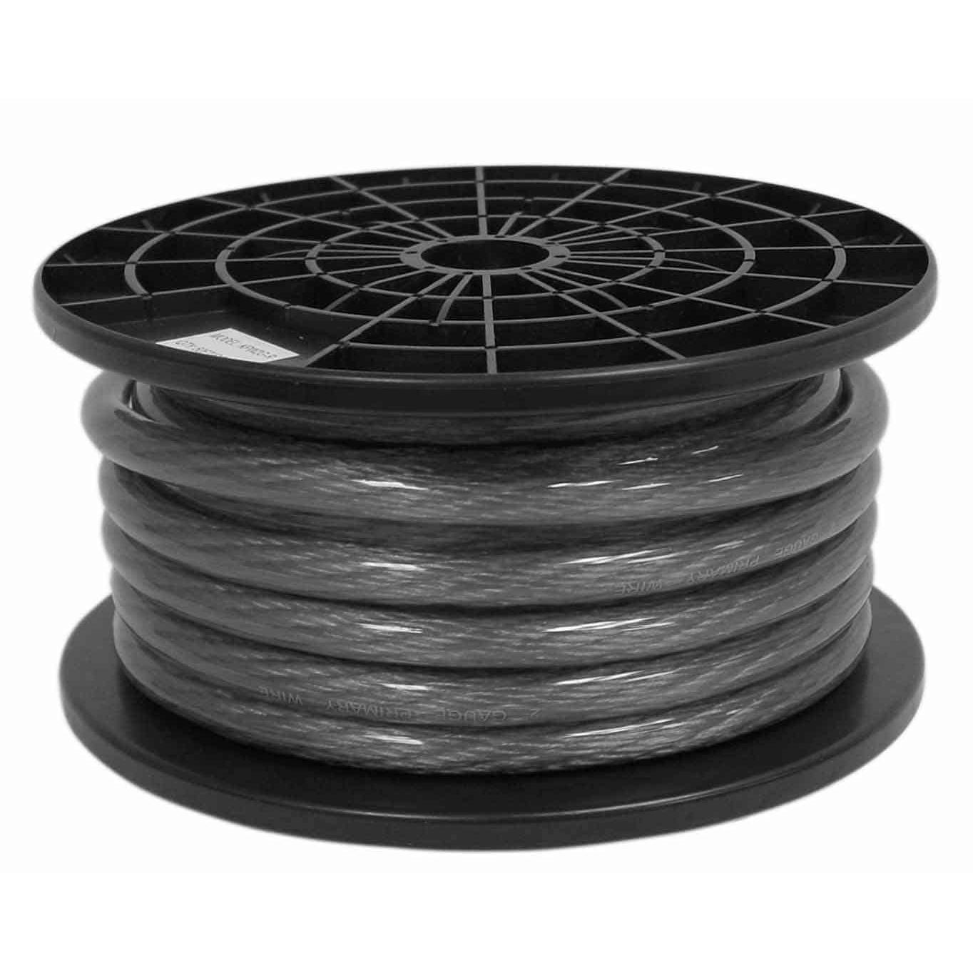 KPW2G-B - Kalibur 2 Gauge Power Wire (Black) 50\' Roll