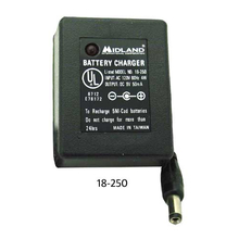 18250 - Midland  120 Volt AC Adapter (In: 120V 60Hz 4Watt - Out: 9V 50 Ma)