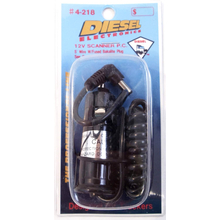 4218 - Diesel 5' Coiled 2.1mm Power Cord