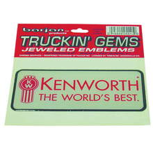 0455541 - Kenworth Truckin Gems Jeweled Reflective Decal