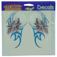 04560081 - Tribal Wolf Vinyl Car Decal