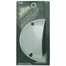 "0481476 - 5-3/4"" Half Moon Chrome Headlight Shields"
