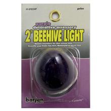 "049BP82343P - Barjan 2"" Purple 12 Volt Beehive Style Light"