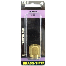 "07443611 - Brass-Tite Air Brake Brass 3/8"" Tubing Nut"