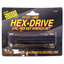 0751013 - 9 Piece Folding Hex Key Wrench Set