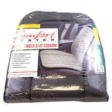 08719762 - Comfort Master Charcoal Padded Tweed Seat Cushion