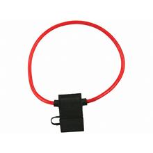 "0969A - Pico 12"" Red 8 Gauge 60 Amp Maxi Fuse Holder (25 Pack)"