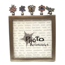 "12560133B - Bugs And Plants Die Cut 4"" x 5"" Picture Frame"