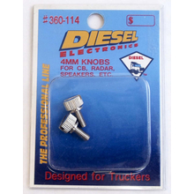 360114 - Diesel Universal 4mm Metal Replacement Side Knob Pair