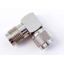 AA3 - Tnc-F To Mini-Uhf-M 90 Degree Adapter