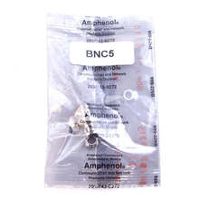 BNC5 - Midland Amphenol 203/743-9272 BNC Connector For RG58 Coax Cable