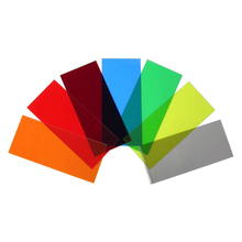 "CFW-O - EKL 3 5.3"" x 2.3"" Sheet Orange Window Material"
