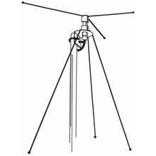 DCX - Hustler 40-950 MHz Discone Base Station Scanner Antenna
