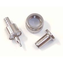 EVPL59 - Everhardt PL259 Crimp On Connector For RG59 Coax - 10 Pack