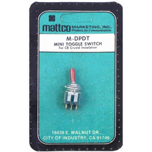 MATTCO DPDT - Mini Toggle Switch