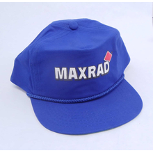MAXHAT-BL - Maxrad Logo Cap In Royal Blue