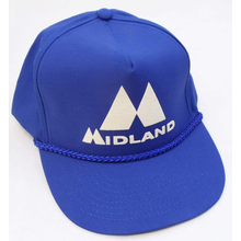 MIDHAT-BL - Midland Logo Cap In Bright Blue - Cloth Back