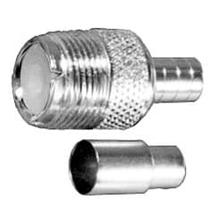 PL259FC58 - ProComm Female So239 Crimp Connector For Rg58 Coax