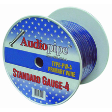PW4100-S - Audiopipe 100' 4 Gauge Oxygen Free Power Cable (Silver)