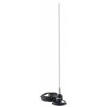 """RUM150 - Hustler 49"""" 100 Watt 3Db Magnetic Mount Antenna Kit"""