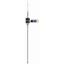 "SCB-R - Hustler 46"" Cb Super Resonator Antenna, 22"" SS Mast & Spring-Red"