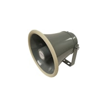 "SPC104 - Speco 6"" Aluminum PA Public Address Speaker Horn 4 Ohms"
