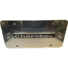 04810015 - Cherokee Chrome Logo Plate