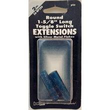 056BP206 - Toggle Switch Extension Blue Short Round 2/Card