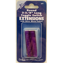 056BP211 - Toggle Switch Extension Purple Long Round 2/Card
