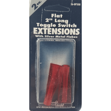 056BP508 - Toggle Switch Extension Red Short Flat 2/Card