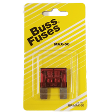 058BPMAX50 - Blister Packed Maxi Max 50 Amp Fuse