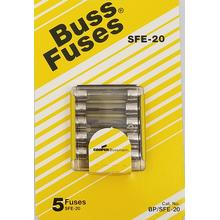 058BPSFE20 - Upc12125 20 Amp Fuse 5/Card