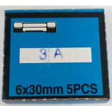 3AMP - 3 Amp Glass Fuses (Box Of 5)