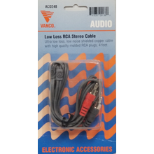 ACD248 - Marmat 4' Audio Cable With Jacks