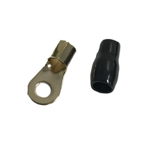 "TB96 - Twinpoint 1/4"" Ring Terminal For 4 Gauge Wire"