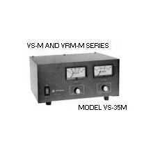 VS35M - Astron Adjustable 35 Amp Power Supply, V/A Meters