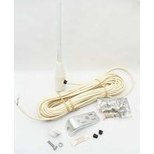 ASM188 - Antenna Specialists 4' Sailboat Antenna w/ 60' Coax