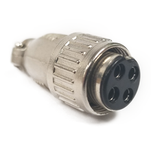 CBC4X - Marmat 4 Pin Die Cast Microphone Connector