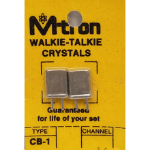 CH16 - Channel 16 Receive & Transmit Crystal Pair For Walkie Talkies