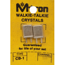 CH38 - Channel 38 Receive & Transmit Crystal Pair For Walkie Talkies