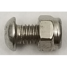 KSAGS - Kalibur Stainless Steel Ground Screw w/ Nylock Nut (25 Pk)