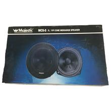 "MCS5A - Majestic 5"" 100 Watt Midrange Speaker With 10 Oz. Magnet"