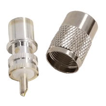 PL2598 - Larsen Amphenol Silver PL259 For RG8 Coax