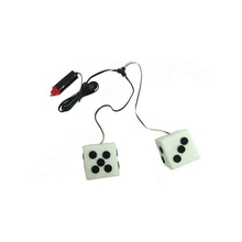024760 - White 12V Hanging Lighted Dice