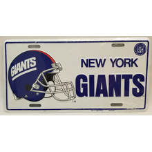 02500517 - New York Giants License Plate