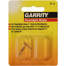 027111 - Garrity T-1 Flashlight Replacement Blub 2/Pk