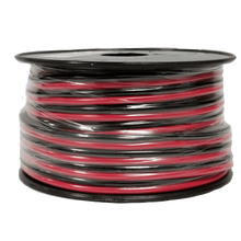 16RB5 - Twinpoint 16 Gauge Zip Wire (Red/Black) 50 Ft Spool