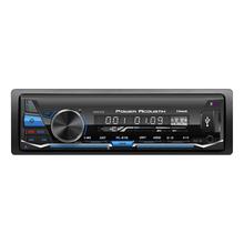 POWER ACOUSTIK - PL81B 4 Channel 300 Watt 1 DIN Media Player With Bluetooth V4.0, USB AUX Input, 12/24 Clock & Detachable Face