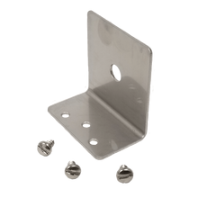 "TMB38 - Larsen Stainless Steel Antenna L Bracket With A 3/8"" Hole"
