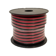 14RB5 - WORKMAN 50 FOOT SPOOL OF 14 GAUGE RED/BLACK DC ZIP WIRE